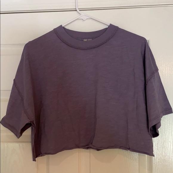ASOS Tops - Purple cropped tshirt